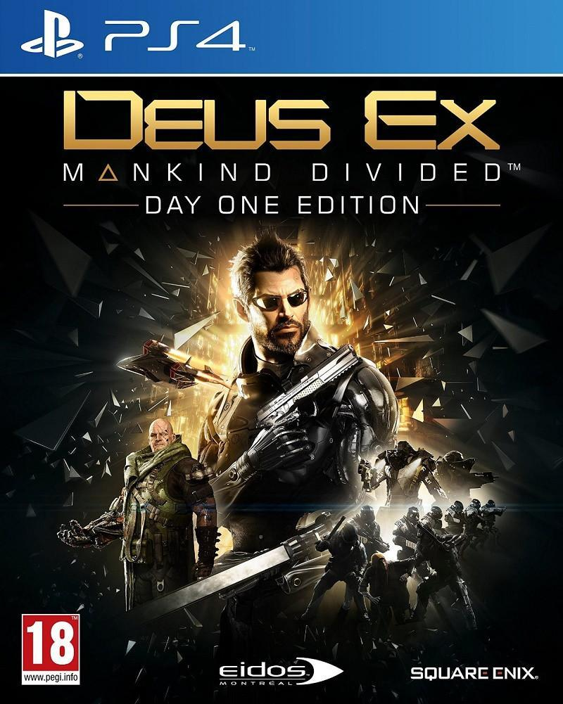 Deus Ex: Mankind Divided Day One Edition (PS4) - GameIN