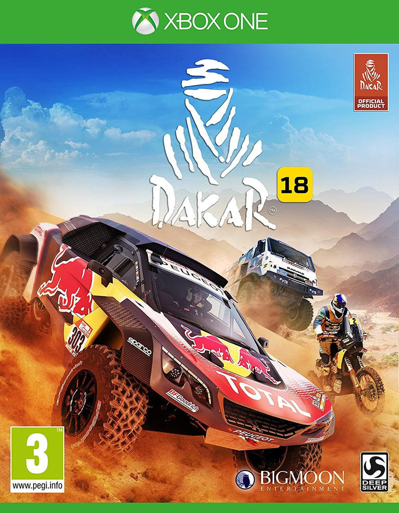 Dakar 18 (Xbox One) - GameIN