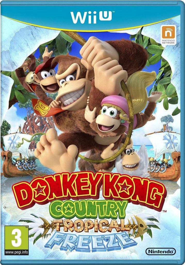 Donkey Kong Country: Tropical Freeze (Wii U) - GameIN