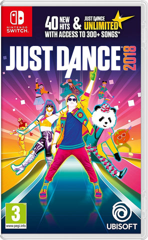 Just Dance 2018 (Nintendo Switch) - GameIN