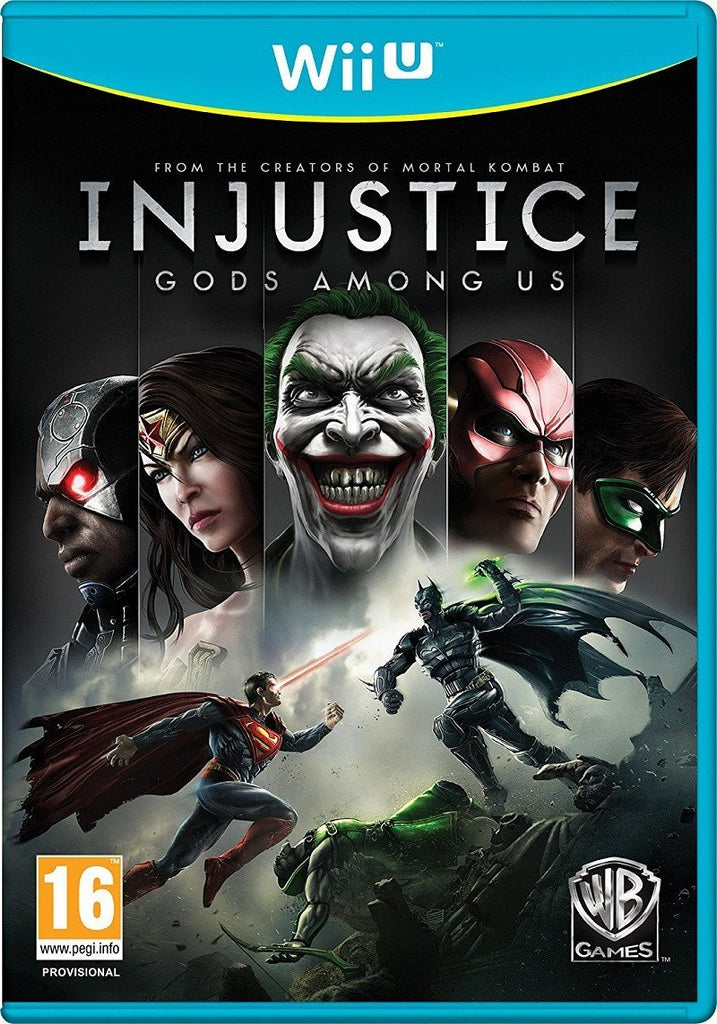 Injustice: Gods Among Us (Wii U) - GameIN