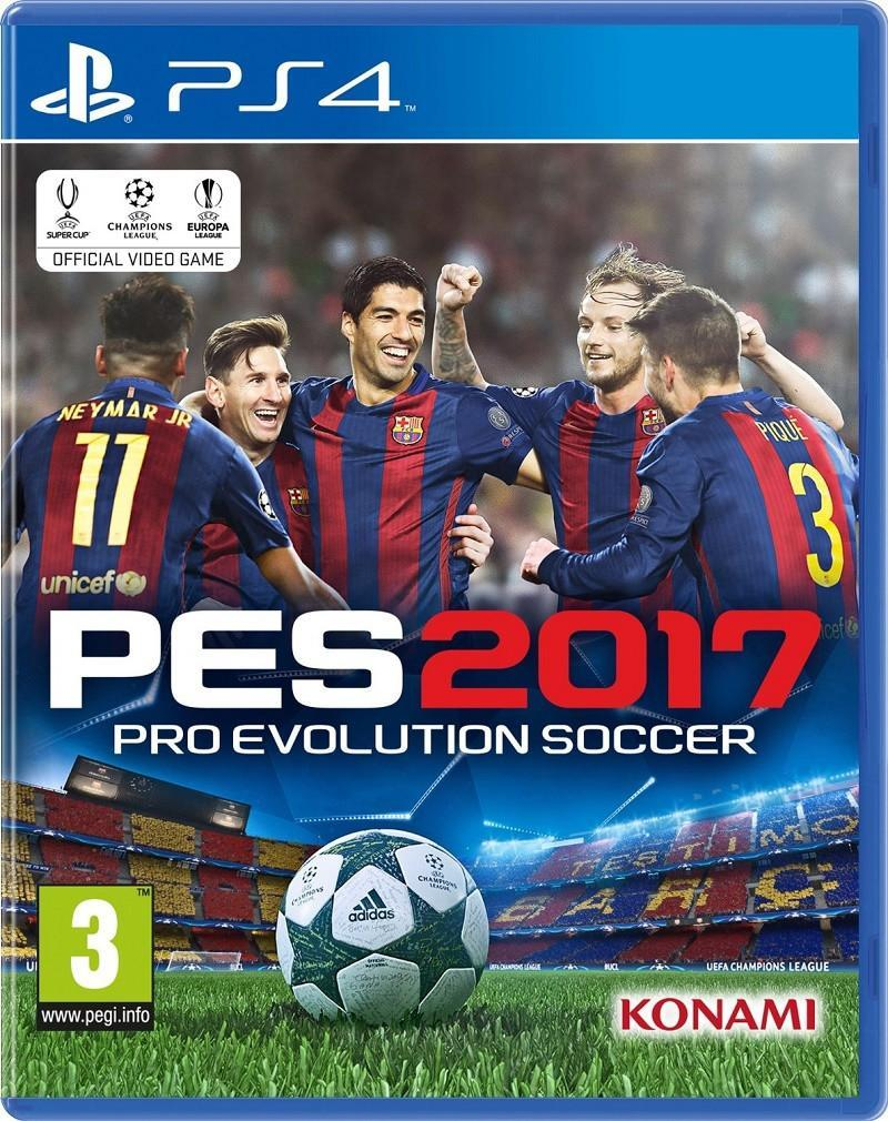 PES 2017 (PS4) - GameIN