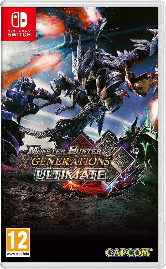 Monster Hunter Generations Ultimate (Nintendo Switch) - GameIN