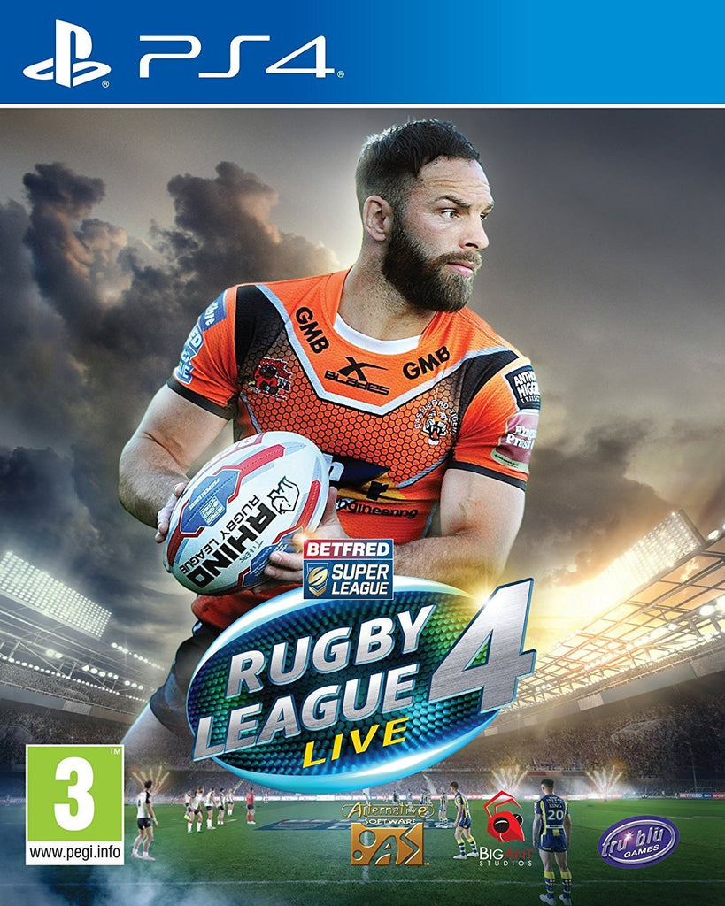 Rugby League Live 4 (PS4) - GameIN
