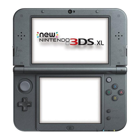 New Nintendo 3DS XL Metallic - Black - GameIN