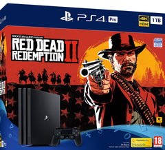 PlayStation 4 PRO + Red Dead Redemption 2 1TB - GameIN