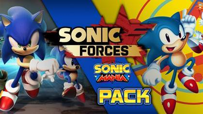 Sonic Forces + Sonic Mania Double Pack (PS4) - GameIN