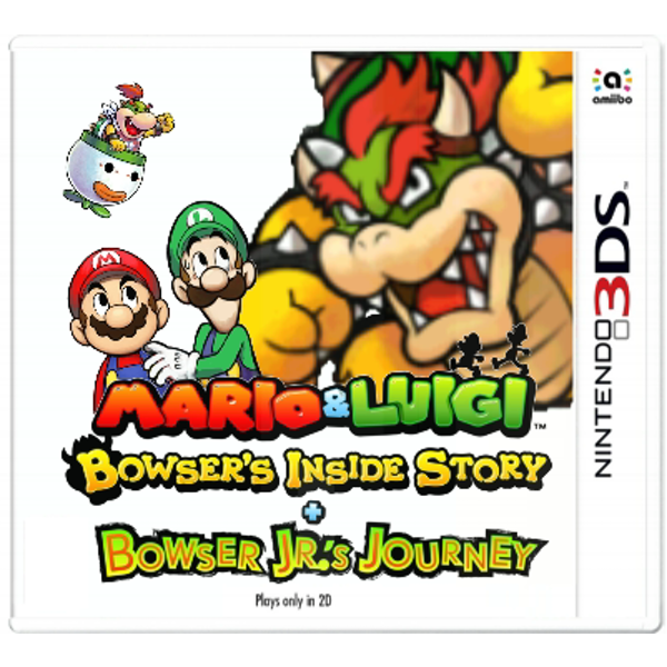 Mario and Luigi Bowser's Inside Story + Bowser Jr.'s Journey (3DS) - GameIN