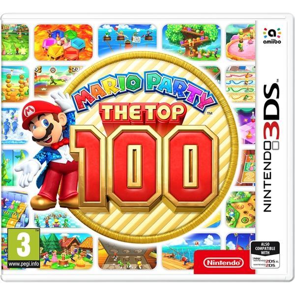 Mario Party The Top 100 (3DS) - GameIN