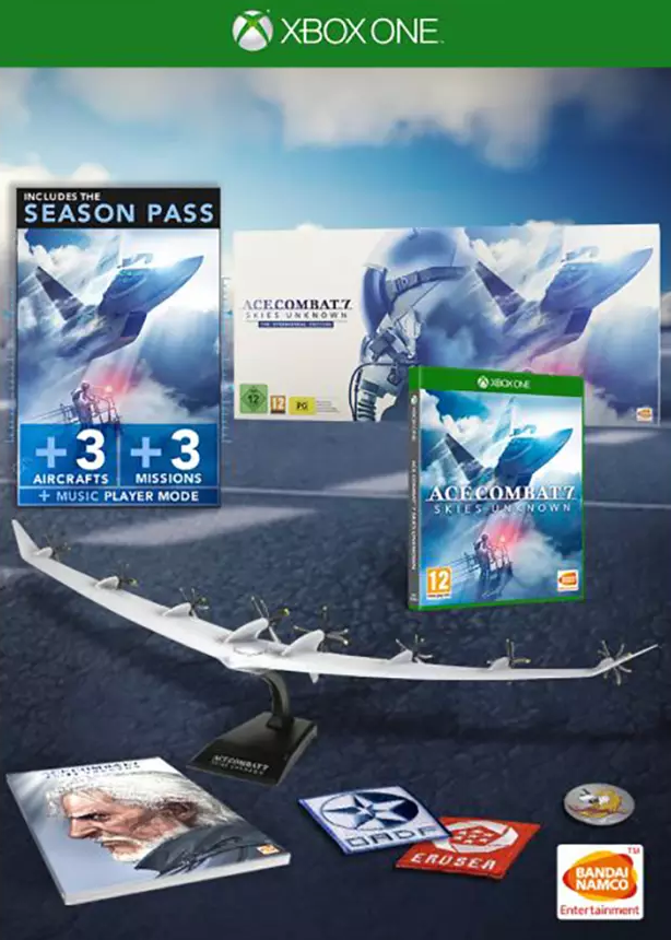 Ace Combat 7: Skies Unknown Collector Edition (Xbox One) - GameIN