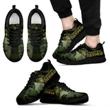 World's Best Army Dad Black Sneakers