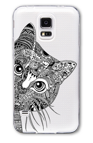 Cute Cat Samsung Phone Case