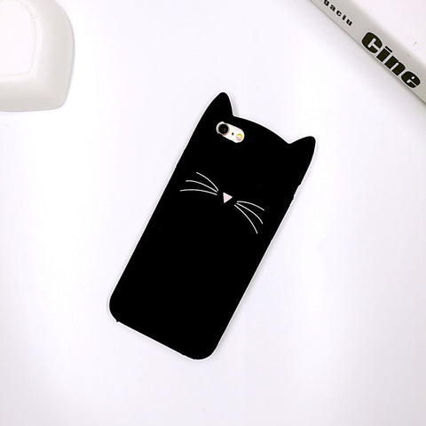 Cute 3D Fashion Cat Ears iPhone Cases - Offer Just Pay Shipping
