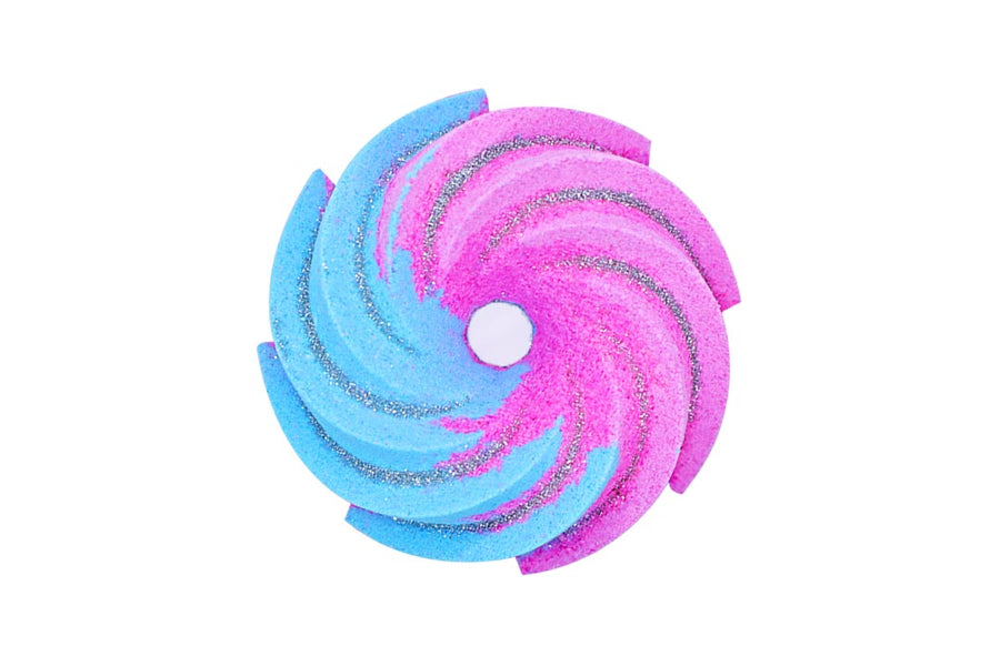 Cotton Candy – Donut Twist Bath Bomb