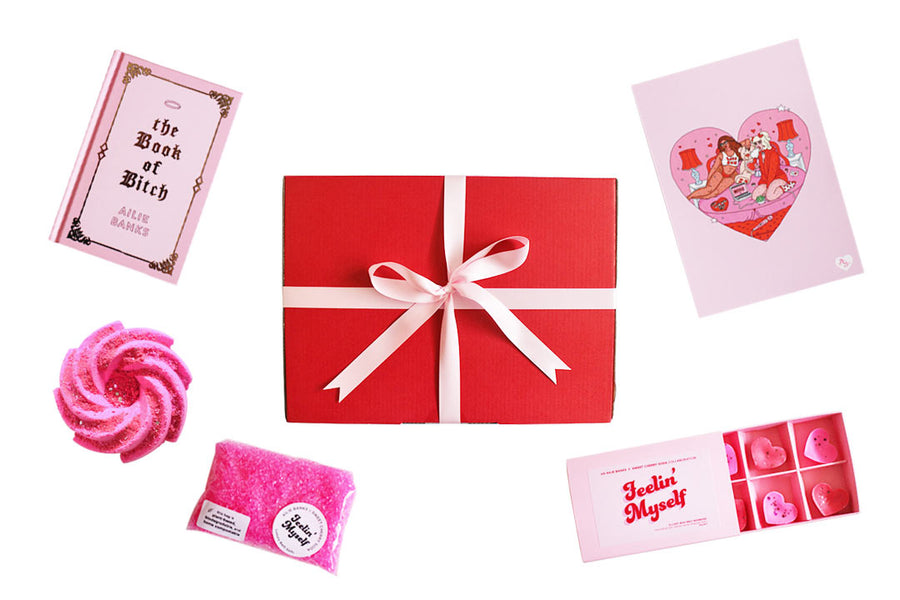 Feelin' Myself  – Gift Set – Ailie Banks x Sweet Cherry Soda (LIMITED EDITION)