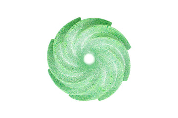 Green Apple Snaps – Donut Twist Bath Bomb