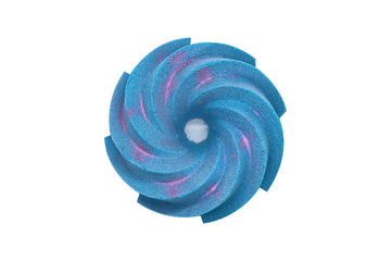 Silky Snowflakes – Donut Twist Bath Bomb (LIMITED EDITION)