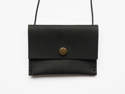 DISCO PURSE Schwarz matt