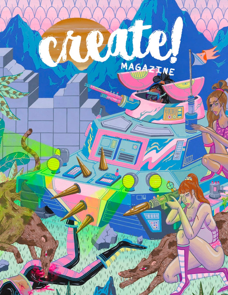 Create! Magazine Issue 7 Art Miami 2017 Edition Digital
