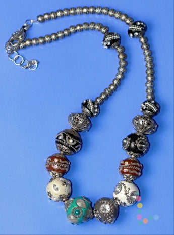 Indonesion Beaded Necklace