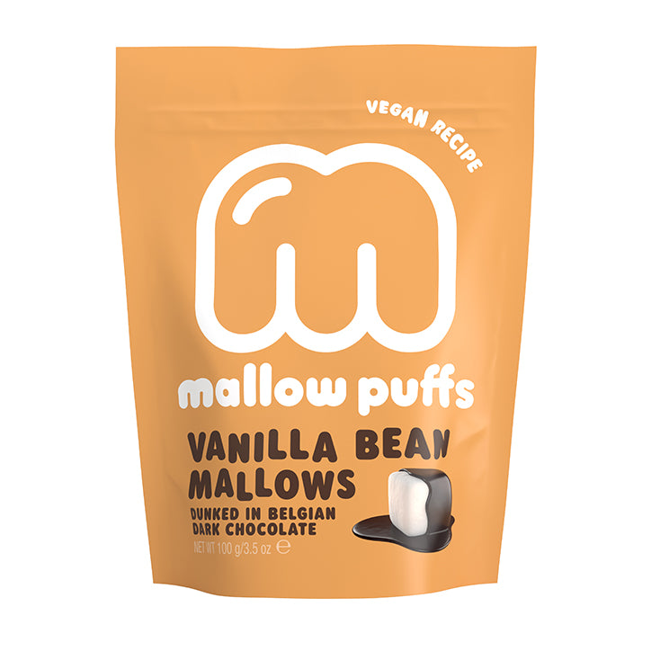 Mallow Puffs Vanilla Bean Mallows 100g - Shipping From Just £2.99 Or FREE When You Spend £60 Or More