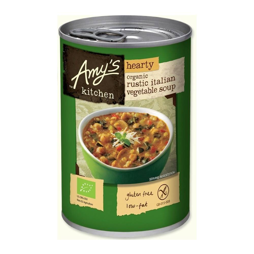 Amy's Kitchen Organic Hearty Rustic Italian Soup 397g