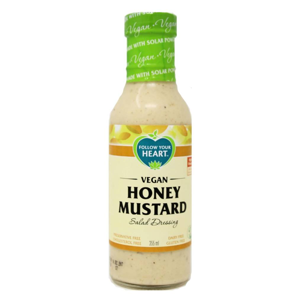 Follow Your Heart Honey Mustard Salad Dressing 355ml - Shipping From Just £2.99 Or FREE When You Spend £55 Or More