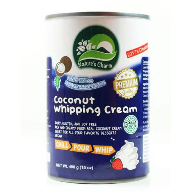 Nature's Charm Coconut Whipping Cream 400g - Shipping From Just £2.99 Or FREE When You Spend £60 Or More