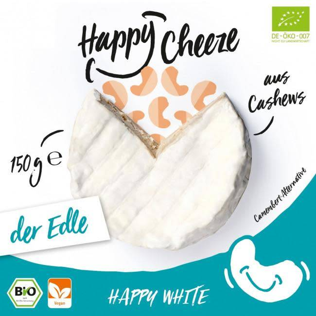 Happy Cheeze Camembert Style 150g - Shipping From Just £2.99 Or FREE When You Spend £60 Or More