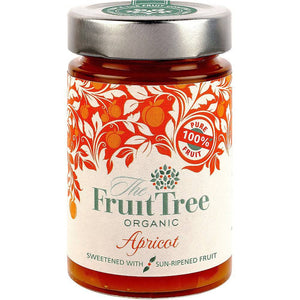 The Fruit Tree Organic Apricot Spread 250g - Shipping From Just £2.99 Or FREE When You Spend £55 Or More