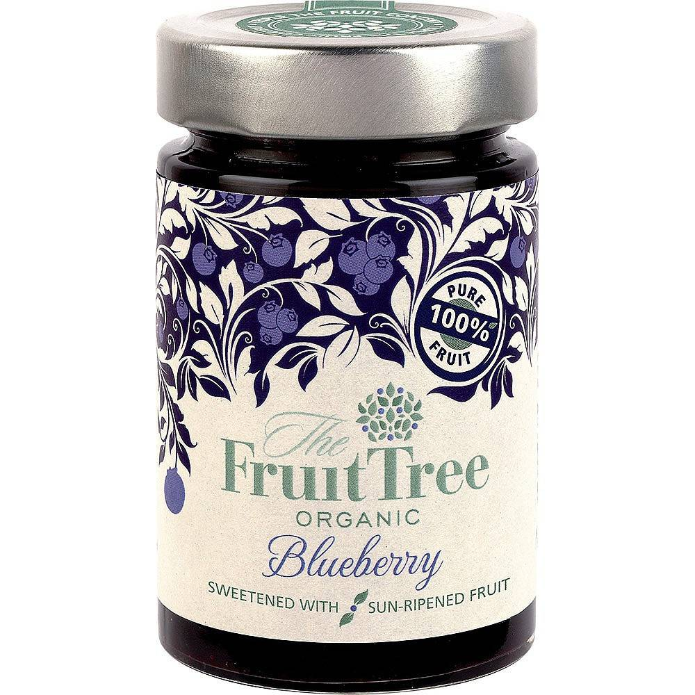 The Fruit Tree Organic Blueberry Spread 250g