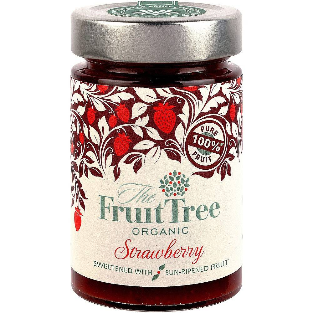 The Fruit Tree Organic Strawberry Spread 250g