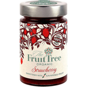 The Fruit Tree Organic Strawberry Spread 250g - Shipping From Just £2.99 Or FREE When You Spend £60 Or More