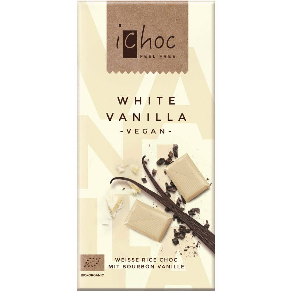 iChoc White Vanilla 80g - Shipping From Just £2.99 Or FREE When You Spend £60 Or More