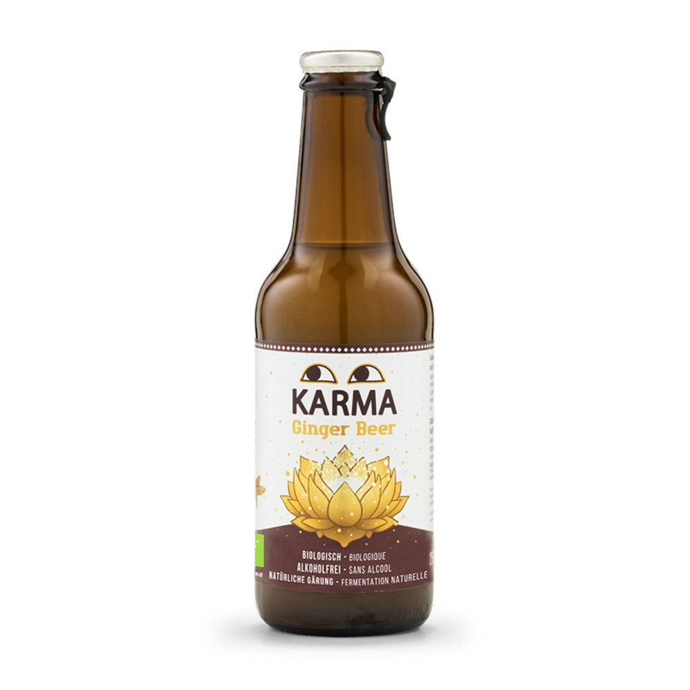 Karma Organic Ginger Beer 250ml - Shipping From Just £2.99 Or FREE When You Spend £60 Or More
