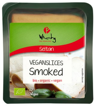 Wheaty Organic Smoked Slices - 100g - Shipping From Just £2.99 Or FREE When You Spend £60 Or More