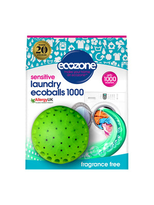 Ecozone Ecoballs 1000 washes (1 Ball) - Shipping From Just £2.99 Or FREE When You Spend £55 Or More