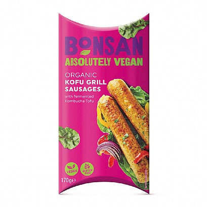 Bonsan Kofu Grill Sausages 170g - Shipping From Just £2.99 Or FREE When You Spend £55 Or More