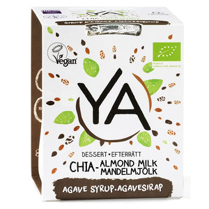 YA Chia Pudding Almond Milk - 120g - Shipping From Just £2.99 Or FREE When You Spend £60 Or More