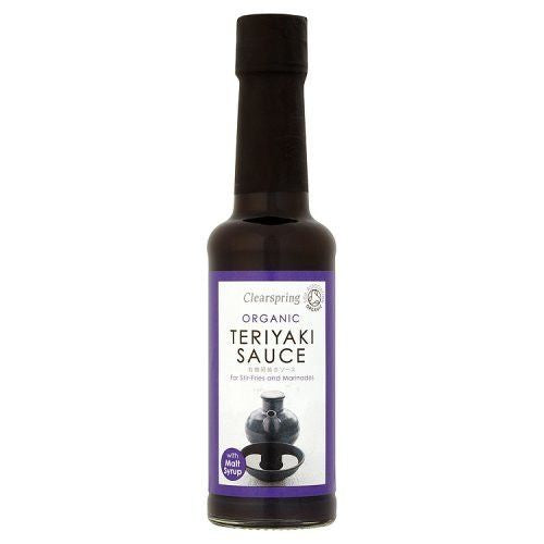 Clearspring Teriyaki Sauce 150ml - Shipping From Just £2.99 Or FREE When You Spend £55 Or More