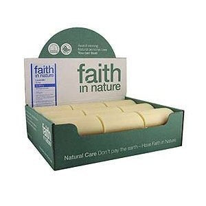 Faith in Nature Lavender Soap 100g - Unwrapped - Shipping From Just £2.99 Or FREE When You Spend £55 Or More