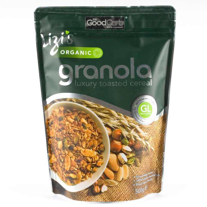 Lizi's Organic Granola 500g - Shipping From Just £2.99 Or FREE When You Spend £60 Or More