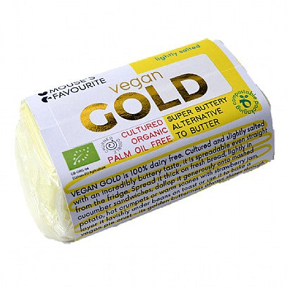 Mouse's Favourite Vegan Gold Butter 180g - Shipping From Just £2.99 Or FREE When You Spend £60 Or More