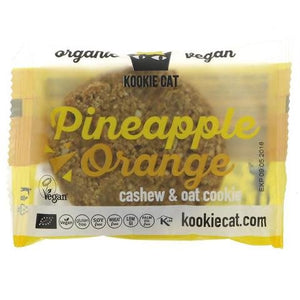 Kookie Cat ORG GF Pineapple & Orange Cookies 50g