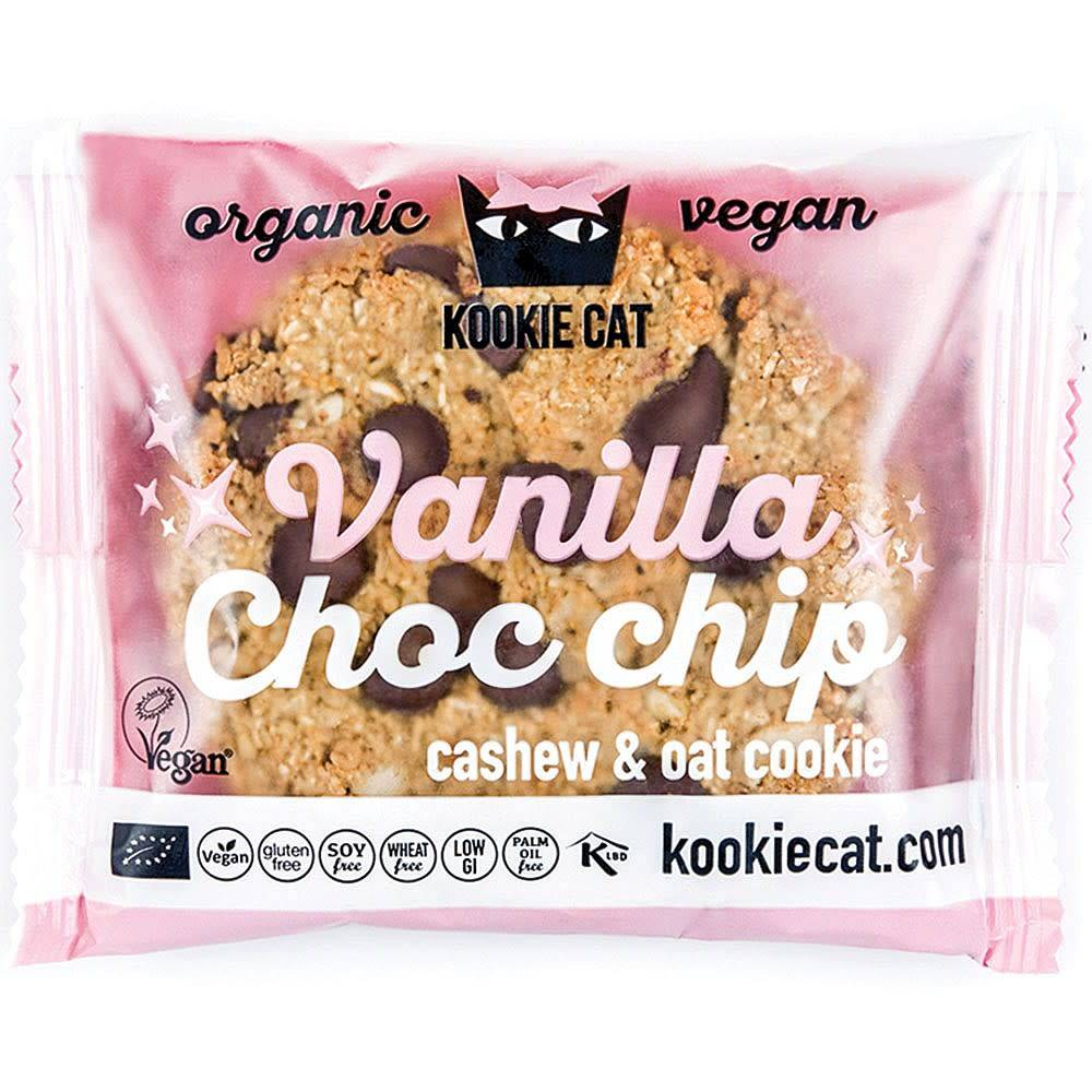 Kookie Cat ORG GF Vanilla & Choco Drops Cookies 50g