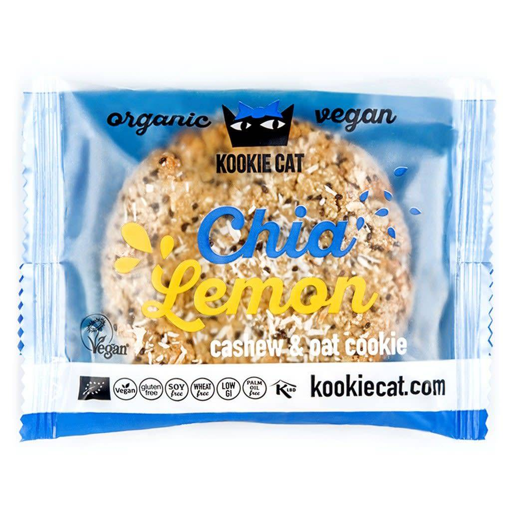 Kookie Cat ORG GF Chia & Lemon Cookies 50g