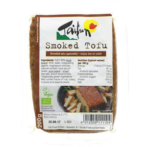 Taifun Organic Tofu Smoked - Beechwood 200g - Shipping From Just £2.99 Or FREE When You Spend £60 Or More