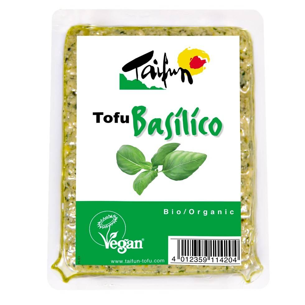 Taifun Organic Tofu Basilico 200g - Shipping From Just £2.99 Or FREE When You Spend £60 Or More