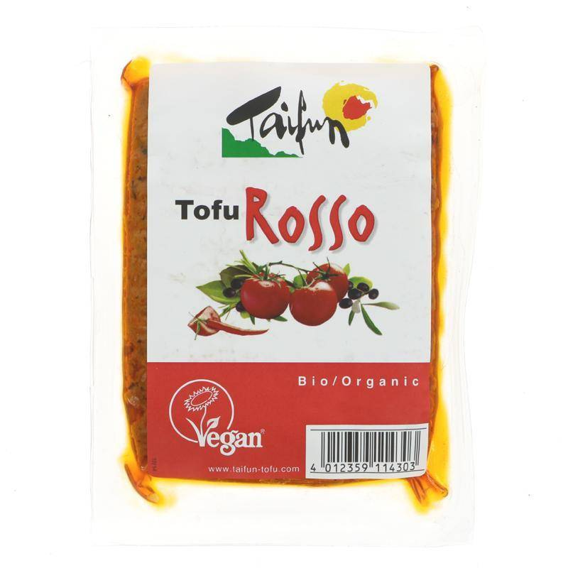 Taifun Organic Tofu Rosso 200g - Shipping From Just £2.99 Or FREE When You Spend £60 Or More