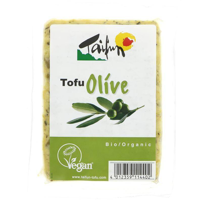 Taifun Tofu Olive Demeter 200g - Shipping From Just £2.99 Or FREE When You Spend £60 Or More